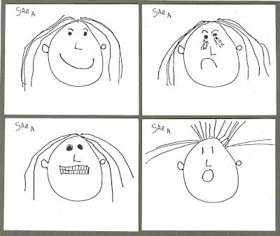 Here S A Good Step By Step Lesson About Drawing Emotional Facial Expressions With Students Age 6 9 Emotional Art Drawing Feelings Kindergarten Art Lessons