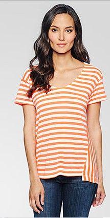 Ella Moss | Lila Neon Short Sleeve Top #maloufs www.maloufs.com