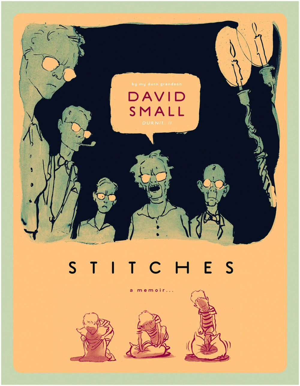 Such a painfully honest, gorgeously drawn graphic memoir.  Personal, moving,and shocking.  Phenomenal.