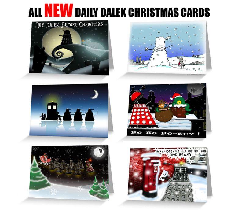 Doctor Who Dalek Christmas cards | Books Worth Reading | Pinterest ...