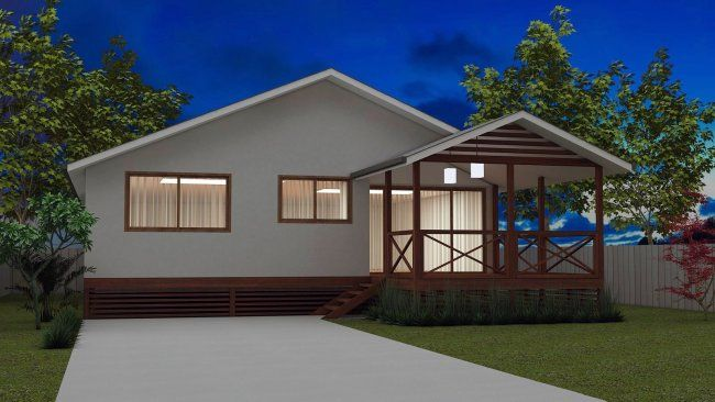 3 Bedroom Home Design Cheap House Plans Affordable