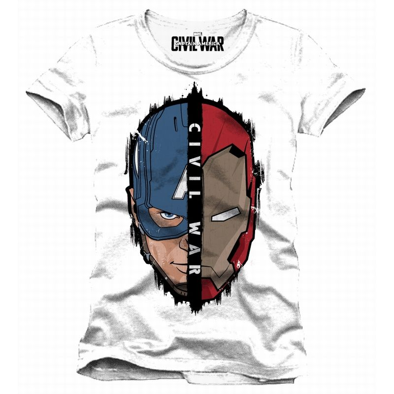 Captain America: Civil War Head to Head T-Shirt