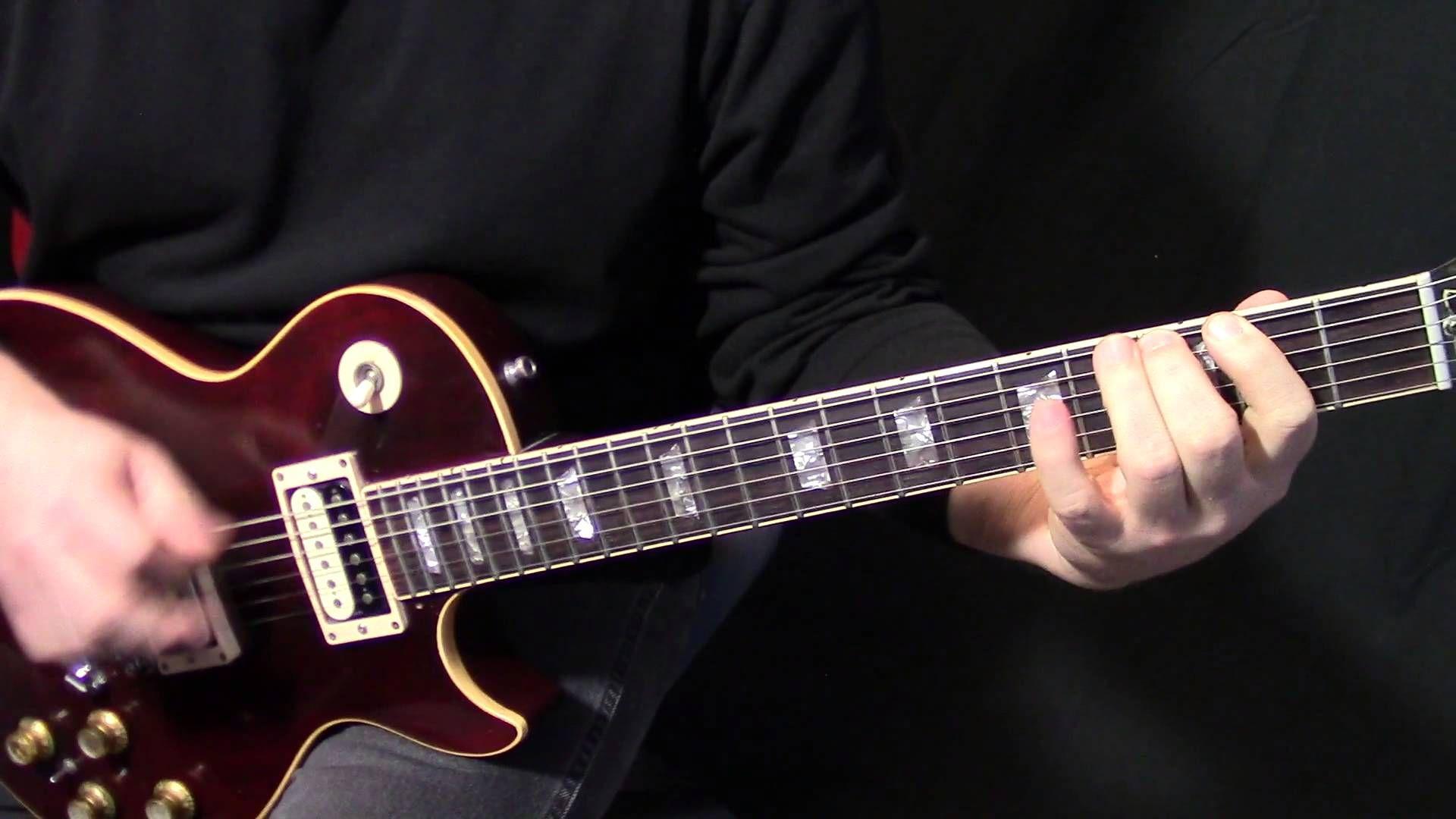 How To Play Sweet Emotion On Guitar By Aerosmith Rhythm Guitar