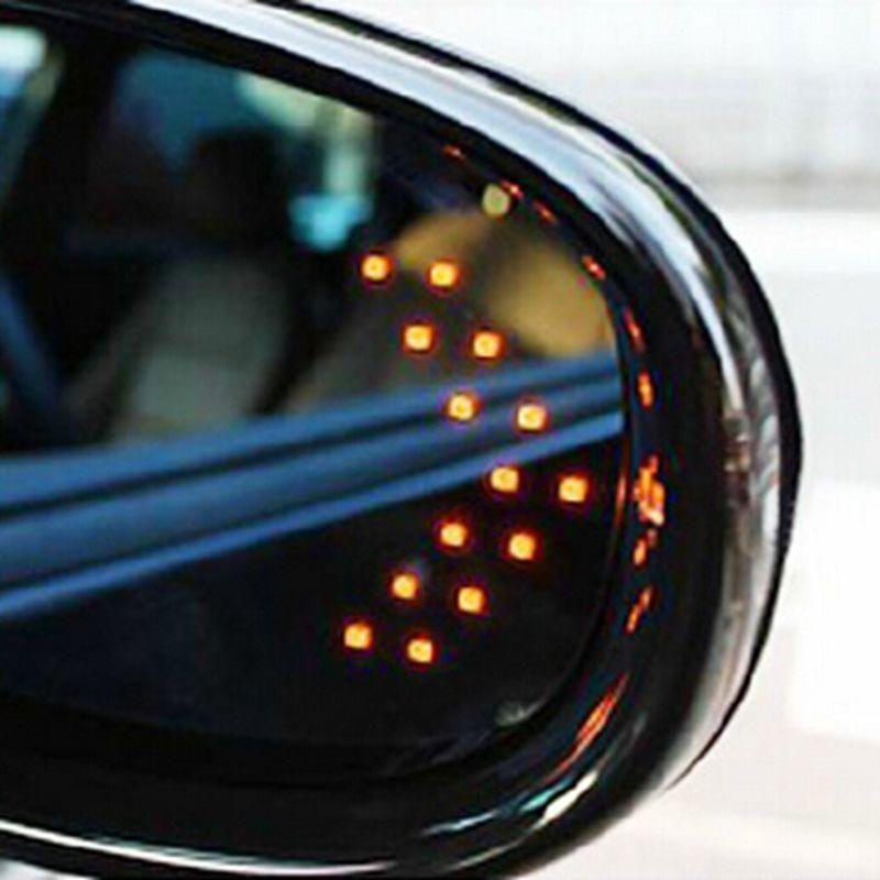 Universal Led Arrow Mirror Indicator Side Mirror Car Car Indicator Lights