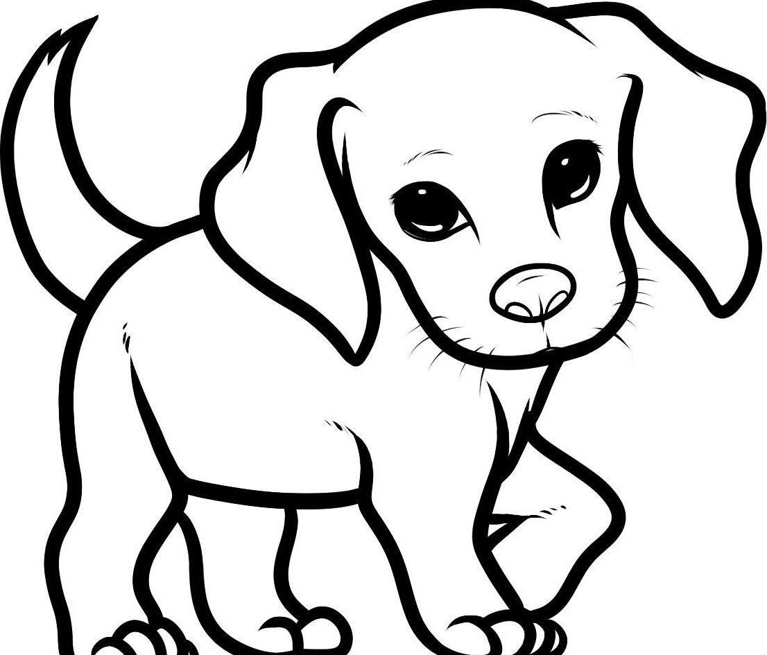 Dog Leg Lift Dogs Puppy drawing