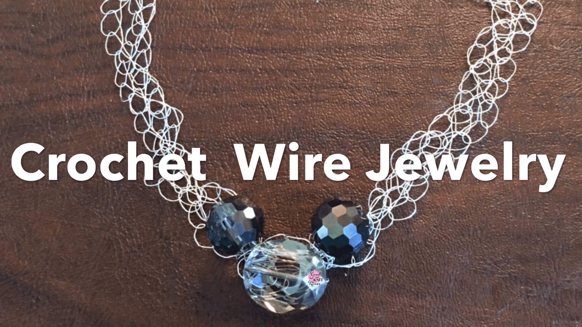 Crochet Wire Jewelry | Crochet wire jewelry... | Pinterest | Crochet ...