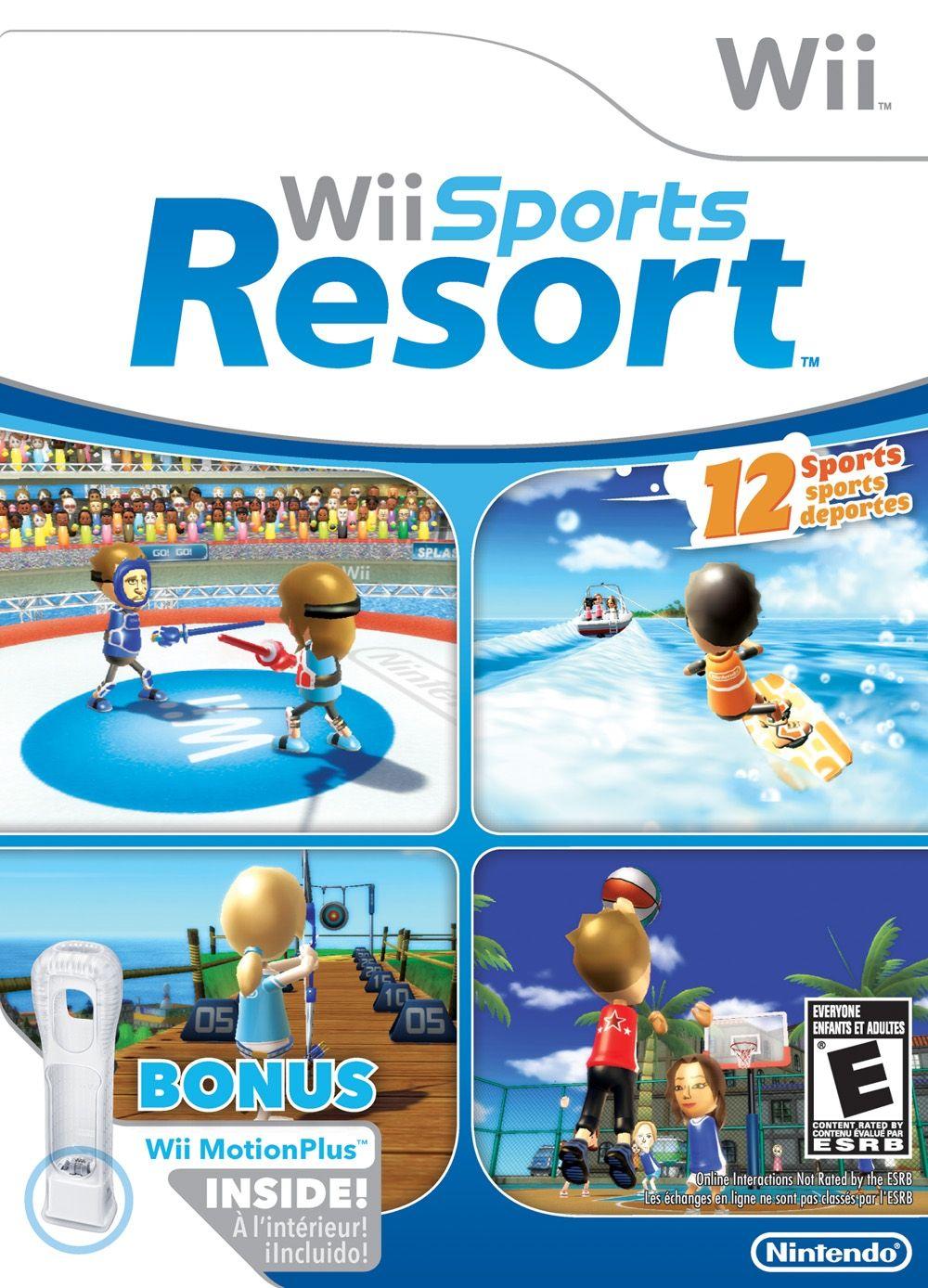 WII SPORTS RESORT Juegos de wii, Juegos de wii u, Juegos