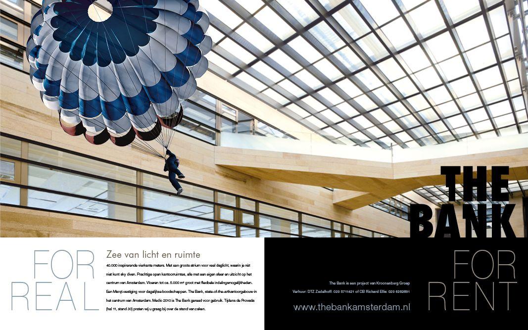 The Bank in Amsterdam vroeg ons om een nieuwe brand identity incl merknaam, een nieuwe website, B2B campagnes, mood clips, (online) marketingcommunicatiemiddelen en outdoor communicatie en organiseerden we evenementen. #branding #logo #design #unique #location #communicatiebureau #shopping #amsterdam
