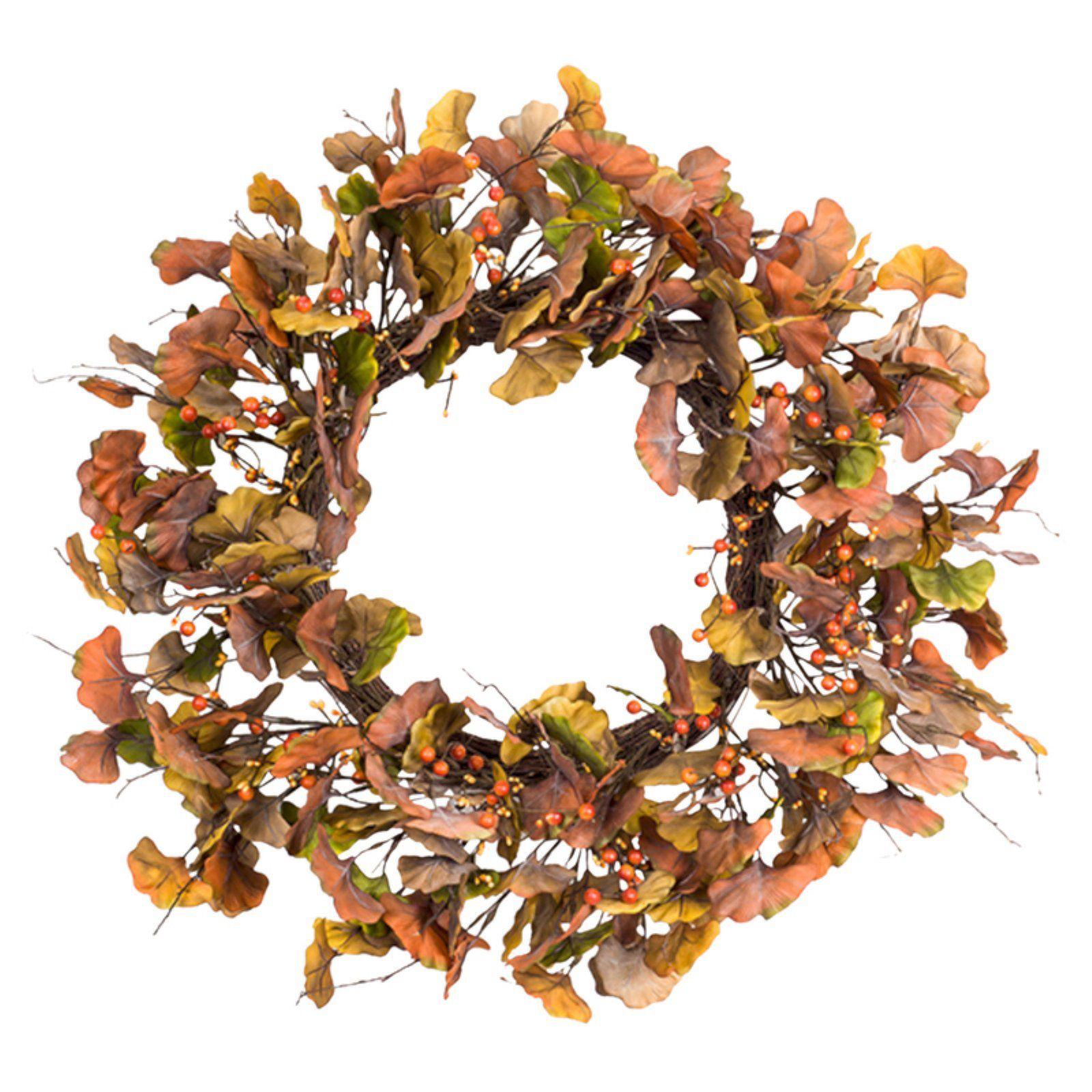 Photo of Melrose Gingko Leaf Wreath