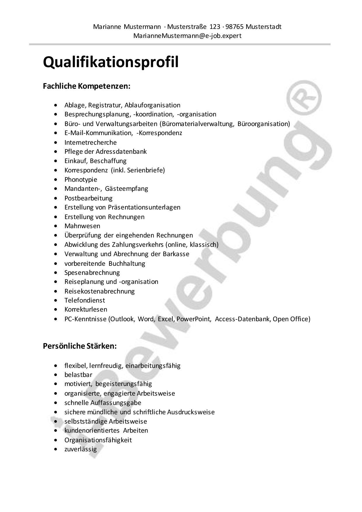 Groß Buchhaltung Lebenslauf Zusammenfassung Von Qualifikationen ...