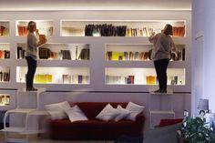 Libreria Sopra Divano.Morsab021 Librerie Arredamento D Interni E Arredamento