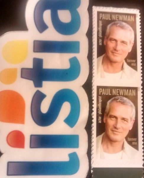 2 Paul Newman Stamps