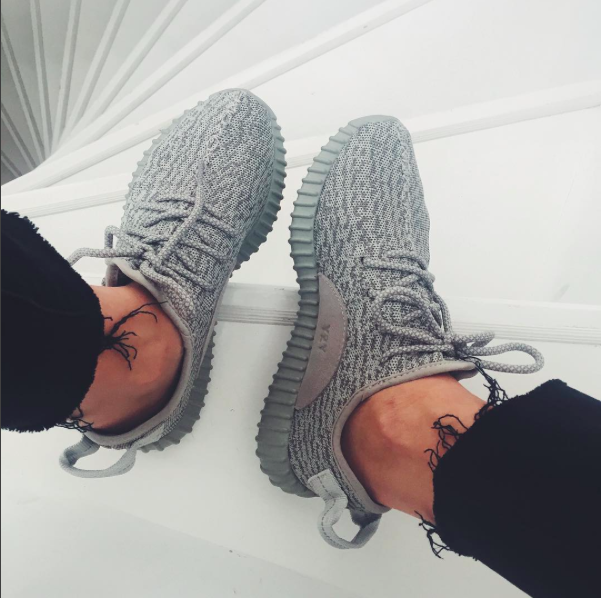 yeezy shoes gray