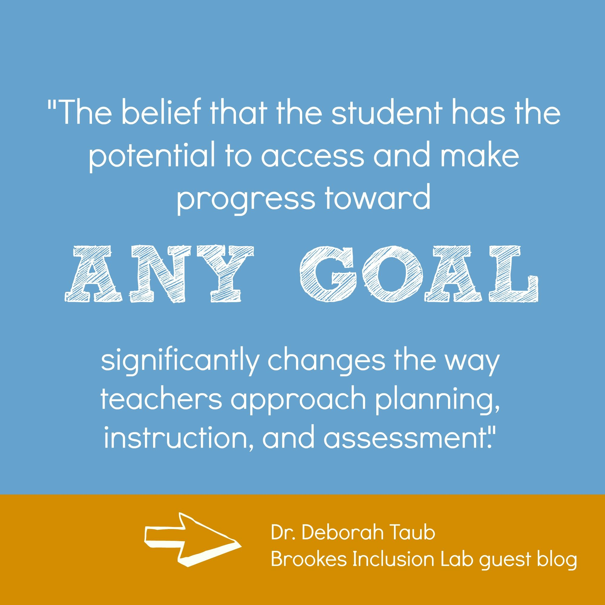 UDL is    moving from the idea that the student is what