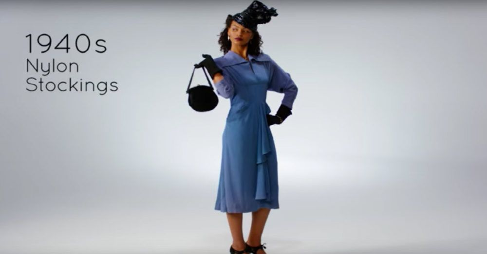 Check Out 100 Years of Women's Fashion Innovations in Less Than 3 Minutes!