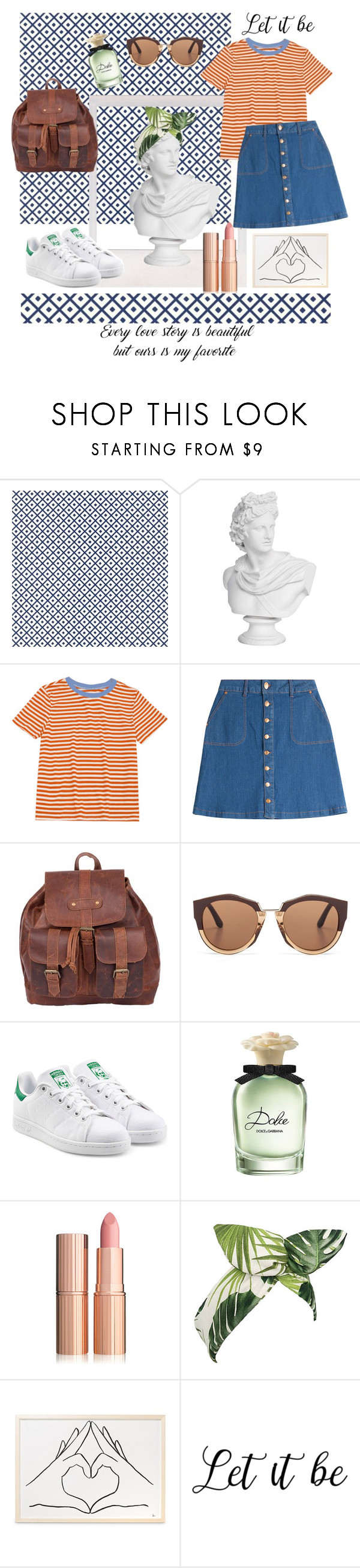 """""""🌼"""" by ecemaydgn ❤ liked on Polyvore featuring HUGO, Mahi, Marni, adidas Originals, Dolce&Gabbana and Lulu in the Sky"""
