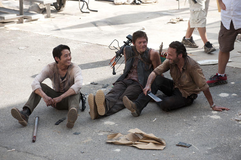 The Walking Dead Season 3 Set Pics