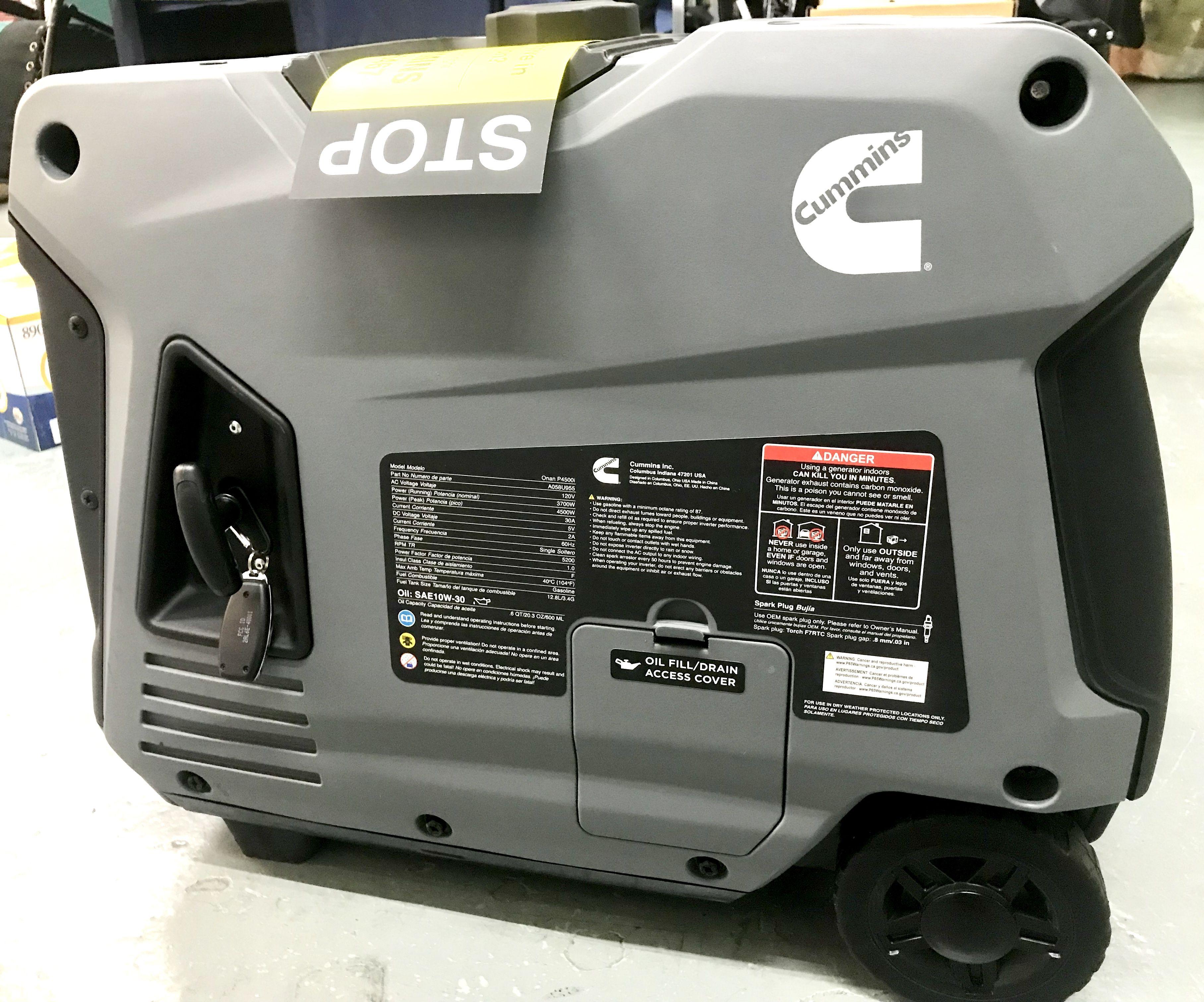 Cummins gas gen p4500i cummins cummins generators