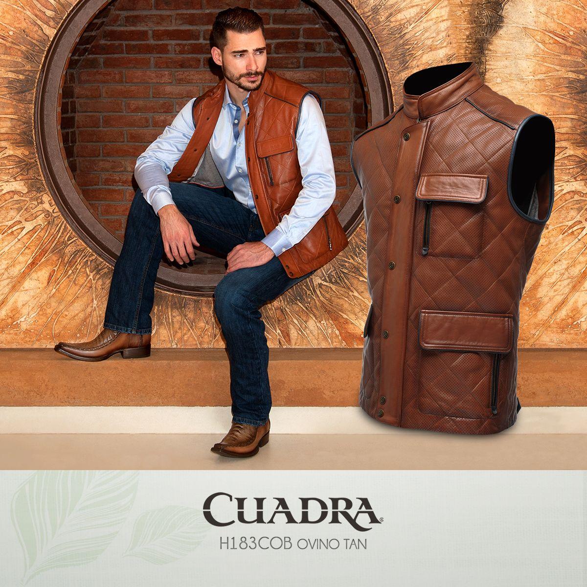 Vestir bien es sinónimo de CUADRA. Chaleco Hombre Moda