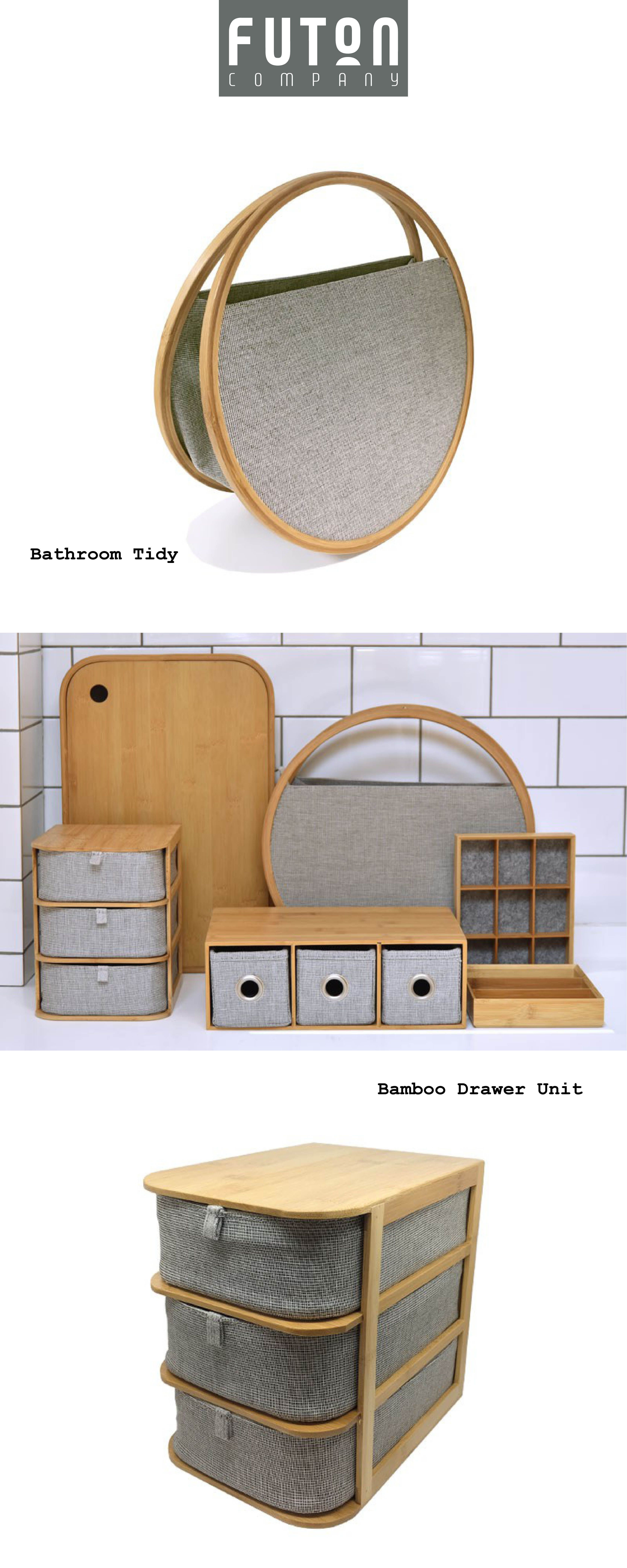 Bamboo Storage Furniture Furniture for small spaces