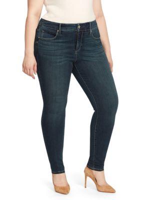Vintage America Blues Womens Petite Wonderland Skinny Jean