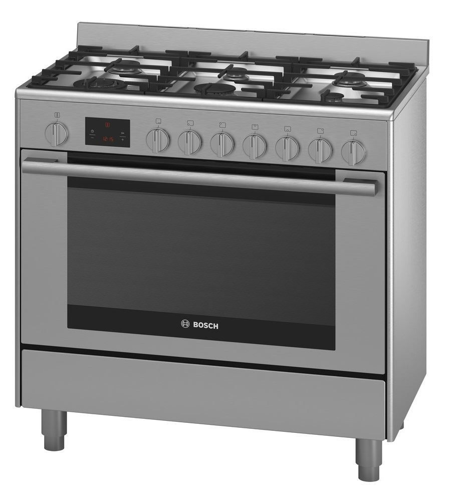 Picture Of Bosch Hsb738357a 90cm Freestanding Gas Catalytic Wall Oven Freestanding Oven Range Cooker Dual Fuel Oven