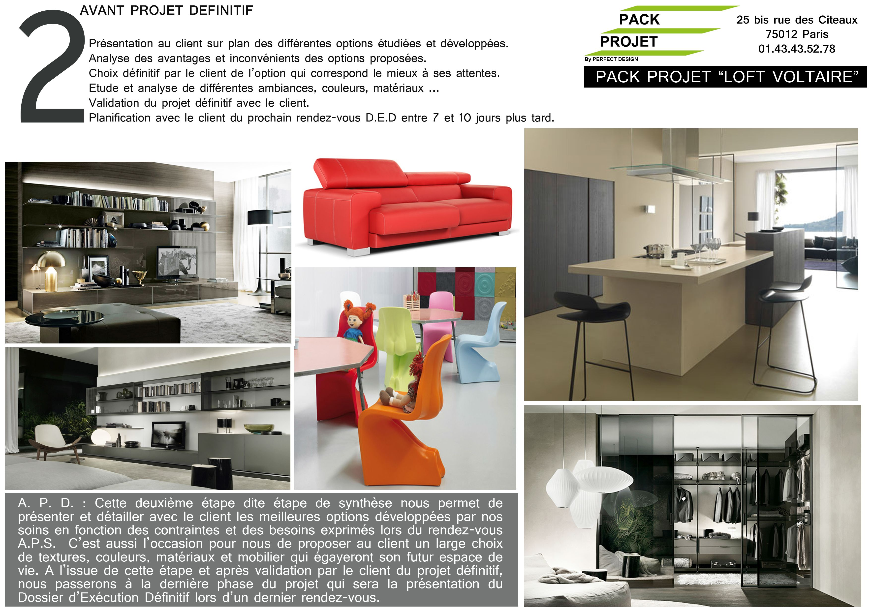 www pack projet com creation dossier de plans coupes elevations