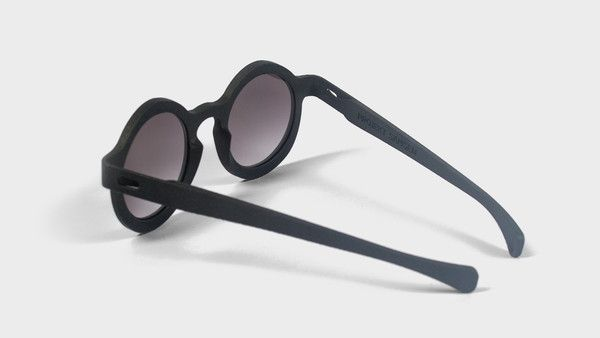 Sonnenbrille Modell A in #anthrazit von Projekt Samsen  #3Dgedruckte #Sonnenbrillen von Projekt Samsen aus Berlin - #3Dprinted #sunglasses from #ProjektSamsen from #Berlin.