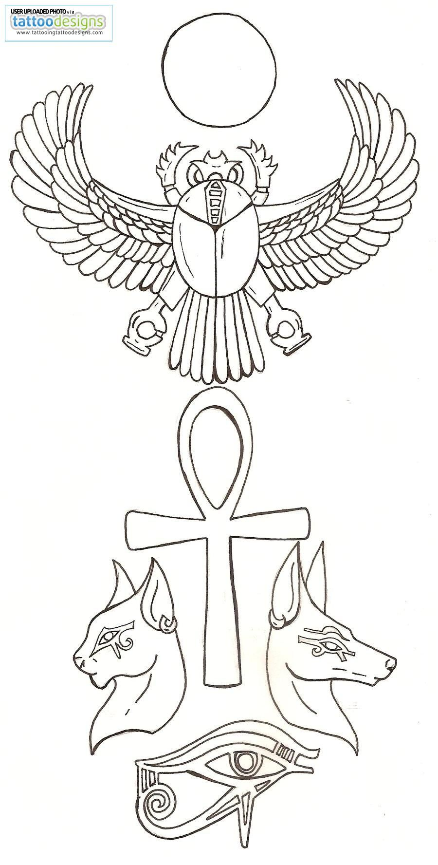 c87814e2f Third eye, scarab, ankh, bestet, Anubis and ra <3 - already have the ankh  just need to get the rest
