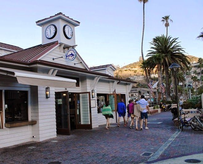 Catalina Island Family Dining At Bluewater Avalon Seafood Restaurant Grill