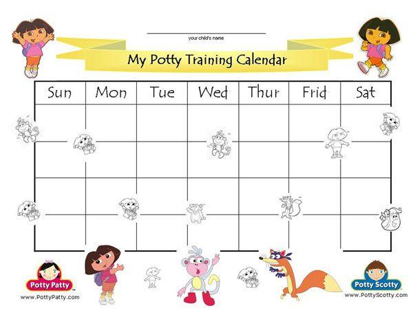 Rewards Stickers Chart Certificate Toilet Kit Set Dora Potty Training Lot Book