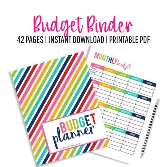 Budget Binder, Budgeting, Budget Printables