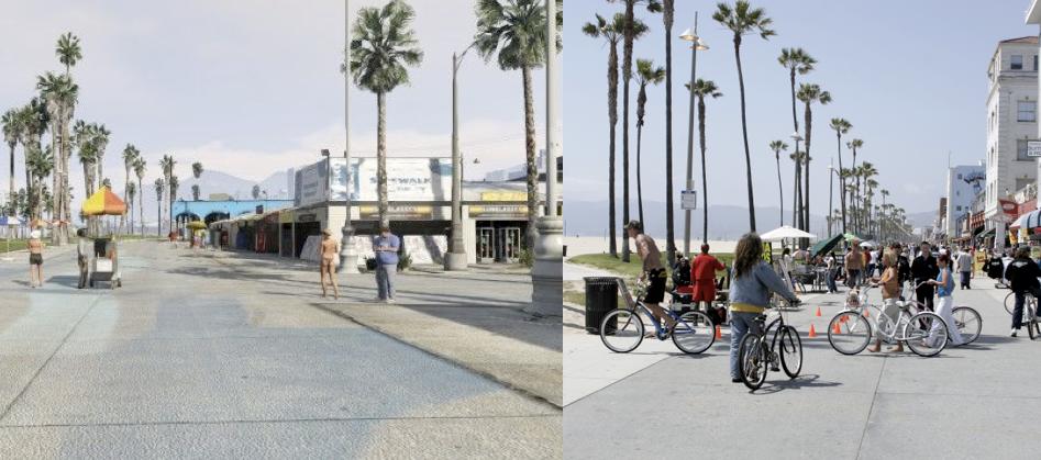 Gta V Irl Venice Beach Venice Beach Santa Monica Venice