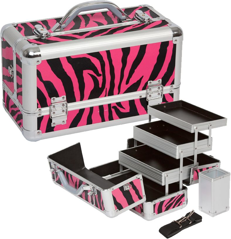 Makeup Cases Cosmetic Cases Train Cases Makeup Train Case Makeup Case Zebra Makeup