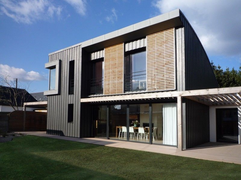 Test des luminaires extérieures ! plan maison Pinterest - qu est ce qu une maison bioclimatique