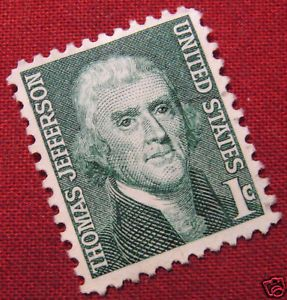 Details about USED STAMP - USA - 1c JEFFERSON | Collectibles