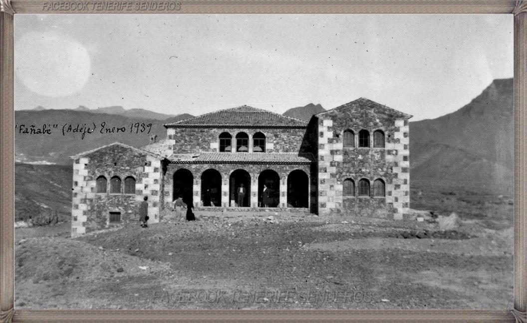 Casa del duque adeje a o 1939 fotoscanariasantigua tenerifesenderos fotosdelpasado - Trabajo desde casa tenerife ...