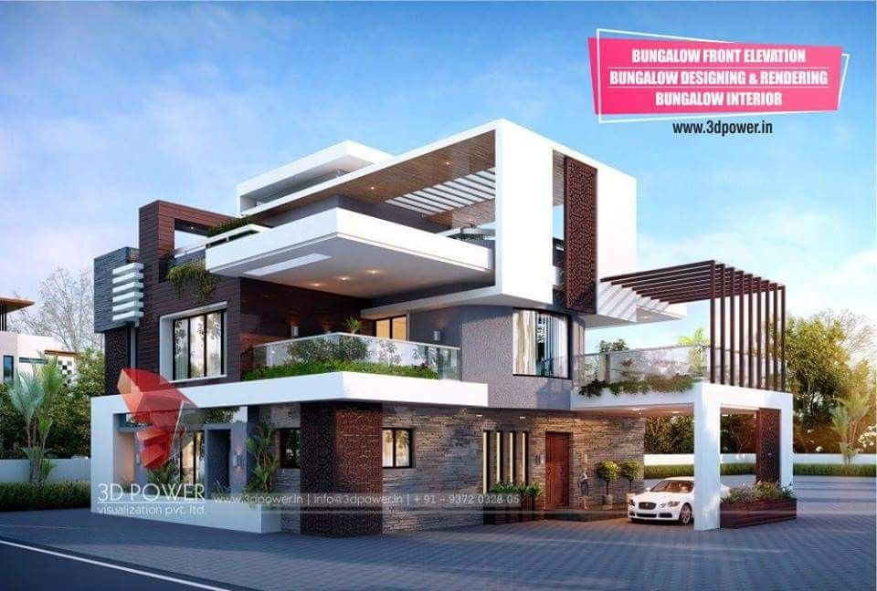 Pin By Dwarkadhish Co On Elevation 2 With Images Small House