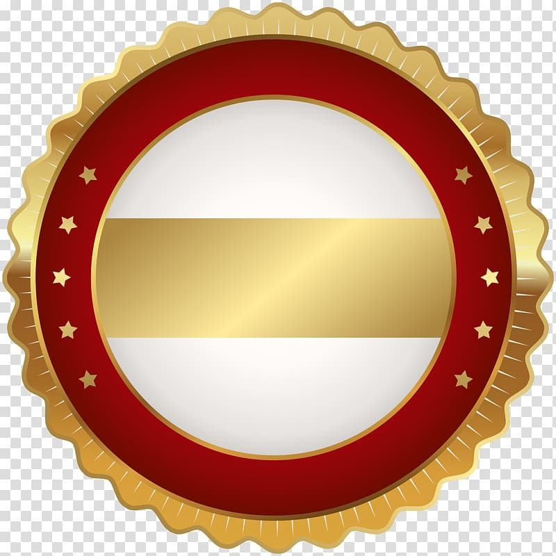 Yellow And Red Stamp Badge Scalable Graphics Seal Badge Red Gold Transparent Background Png Clipa Transparent Background Facebook Logo Transparent Red Gold