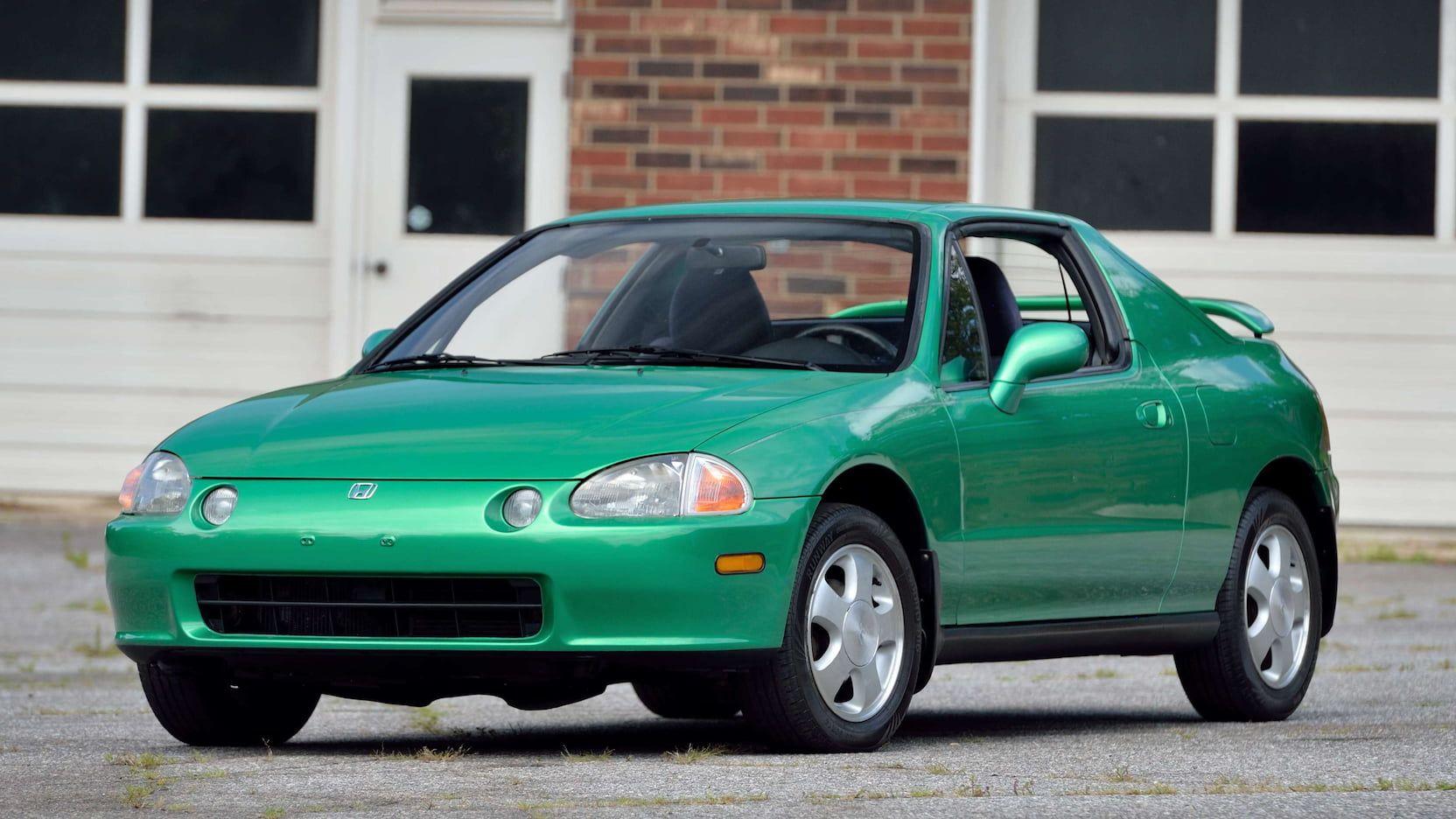 1993 Honda Del Sol presented as Lot S7.1 at Harrisburg, PA