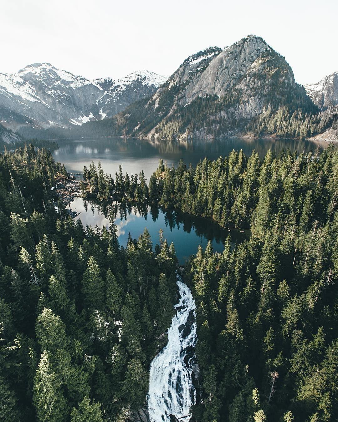 Lakes In Bc Canada: Widgeon Lake Vancouver British Columbia Canada