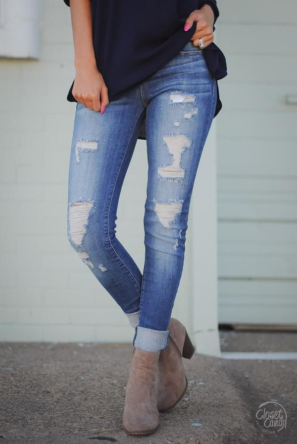 6d461c3e226 JUDY BLUE Drift Away Skinny Jeans - Medium Wash