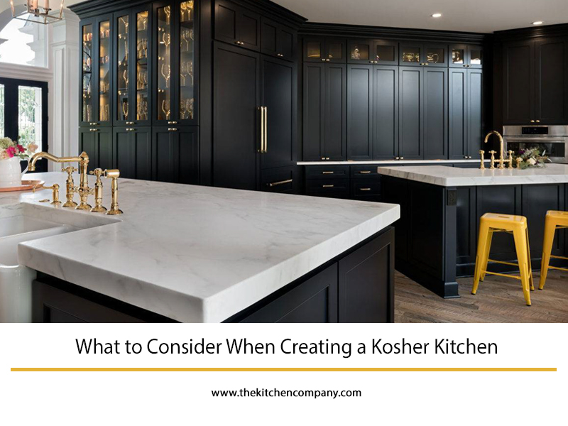 What To Consider When Creating A Kosher Kitchen The Kitchen Company Kosher Kitchen Kosher Kitchen Design