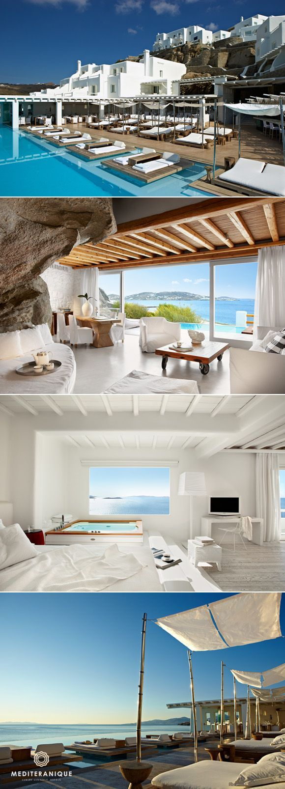 Bora bora french polynesia kivotos hotel mykonos the caves hotel - 5 Incredible Luxury Boutique Hotels In Greece