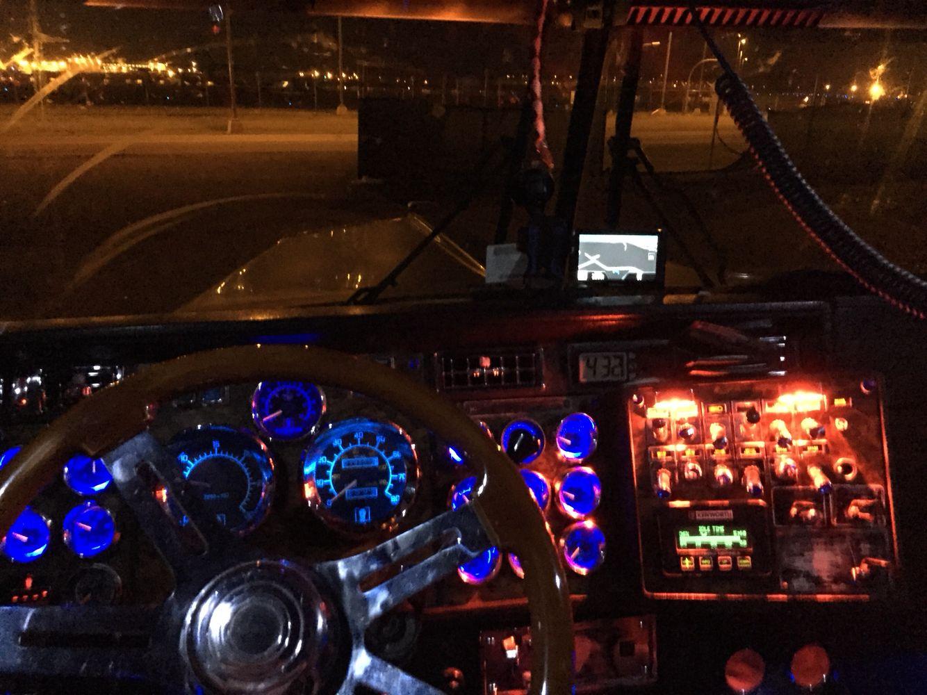 Dash Lights On 97 Kenworth W900l