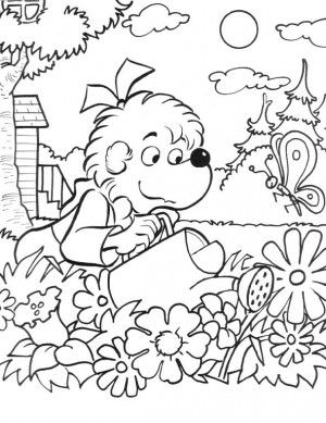 where the wild things are party coloring page google search berenstain bears coloring page12