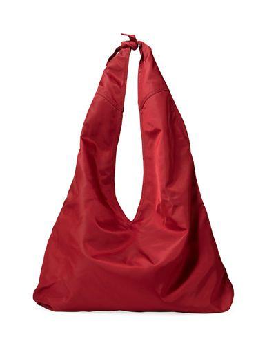Bindle nylon shoulder bag The Row AgdmI1nvb