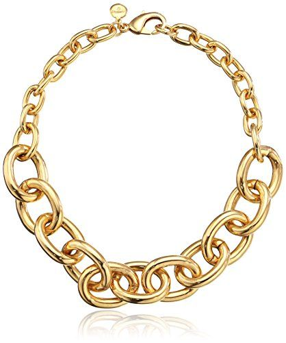 Amazon Com Ben Amun Jewelry Classic Smooth Link Necklace