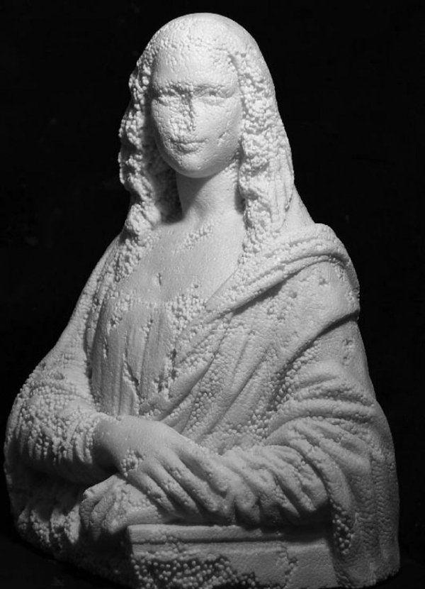 Fabio Viale - escultura em mármore