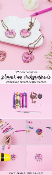 Photo of Geschenkidee: DIY-Schmuck aus Buntstiften Geschenkidee: DIY-Schmuck aus …